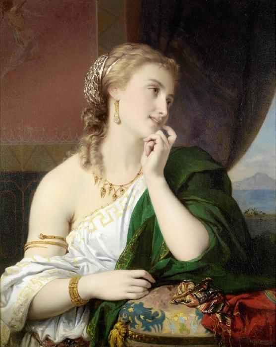 Неаполитанская красавица. Автор: Жозеф Команс.